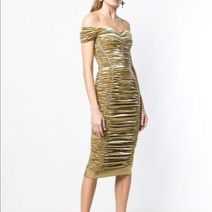Dolce & Gabbana Gold Dress